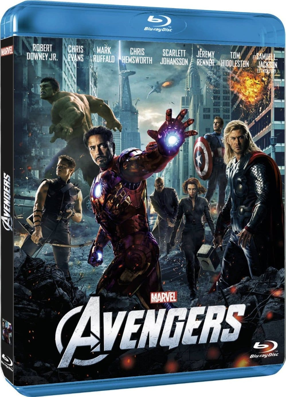The Avengers: Los Vengadores DVDRip/BRRip 720p HD (Dual...
