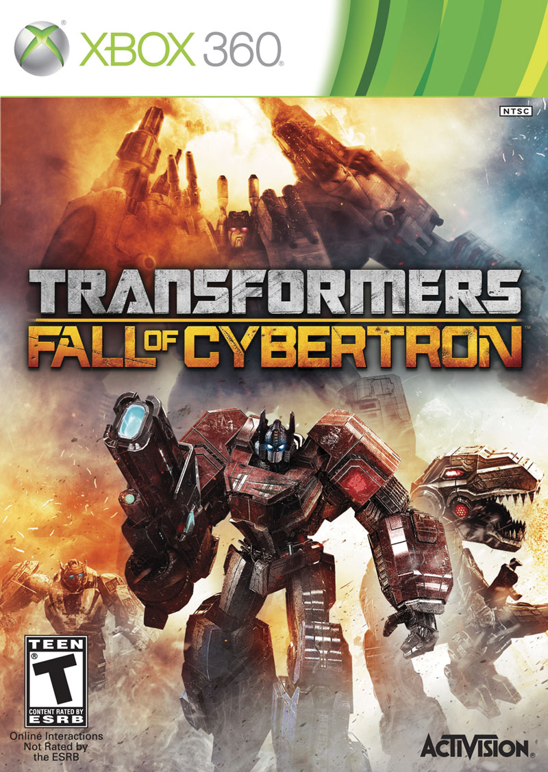 Transformers Fall Of Cybertron (Region Free) XBOX 360 D...