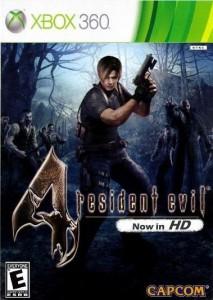 Cover Caratula Resident Evil 4 HD XBOX 360