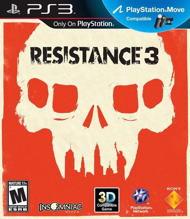 Resistance 3 (Fix Custom Firmware 3.55) ESPAÑOL PS3 Des...