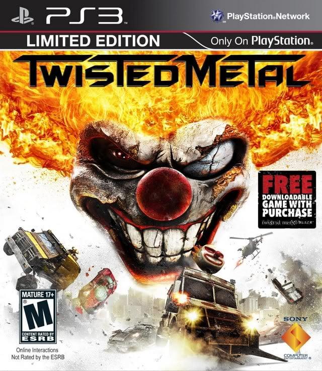 Twisted Metal (FIX EBOOT 3.55) PS3 ESPAÑOL De...