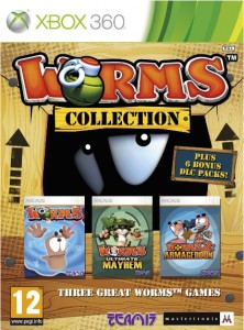 Cover Caratula Worms Collection XBOX 360
