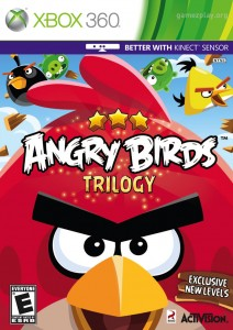 Cover Caratula Angry Birds XBOX 360