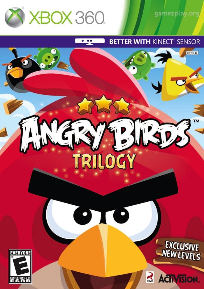 Angry Birds Trilogy (Region Free) XBOX 360 ES...