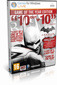 Cover Caratula Batman Arkham City GOTY PC Descargar Español