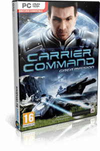 Cover Caratula Carrier Command Gaea Mission PC