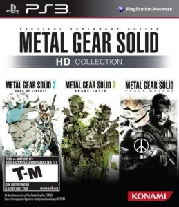 Cover Caratula Metal Gear Solid HD Collection PS3 Descargar