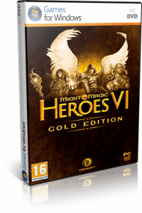 Cover caratula Might and Magic Heroes VI Gold Edition PC