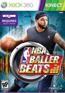 Cover Caratula NBA Baller Beats XBOX 360 Kinect