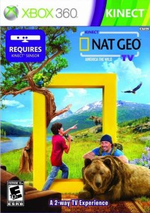 Cover Caratula Kinect Nat Geo TV XBOX 360