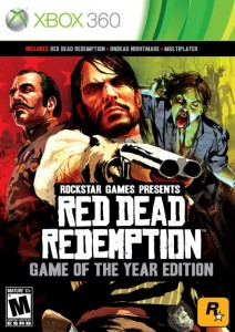 Cover Caratula Red Dead Redemption Game Of The Year Edition XBOX 360