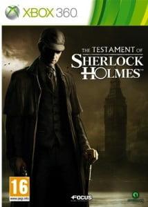 Cover Caratula The Testament Of Sherlock Holmes XBOX 360