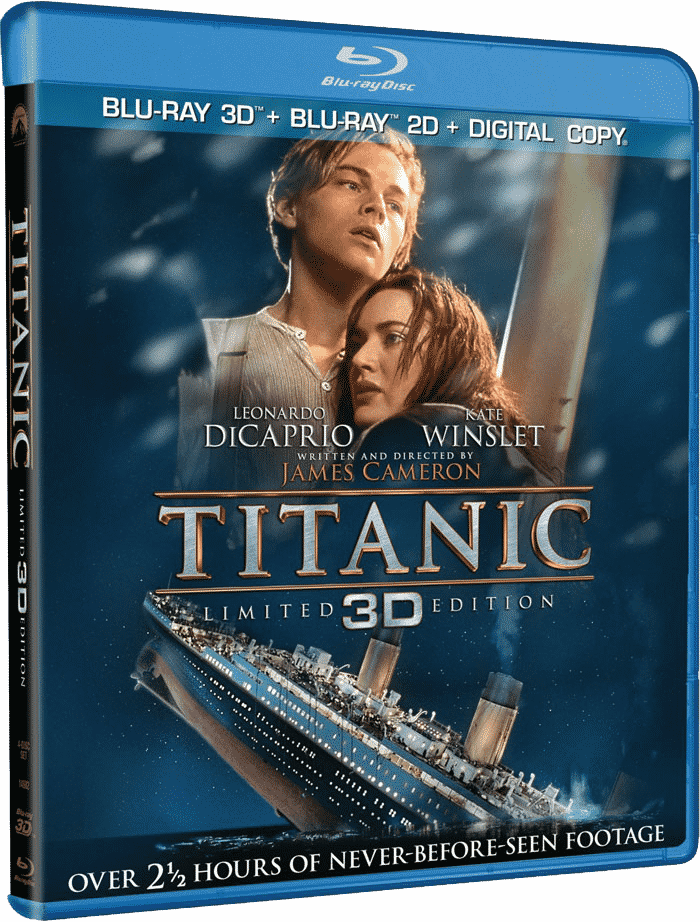 Titanic (1997) Blu-ray 3D 1080p Full HD Dual ...