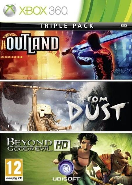 Ubisoft Triple Pack (Region Free) XBOX 360 ESPAÑOL Desc...