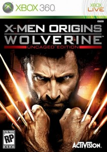 Cover Caratula X-Men Origins Wolverine XBOX 360