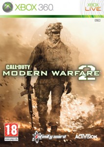 Cover Caratula Call Of Duty Modern Warfare 2 XBOX 360