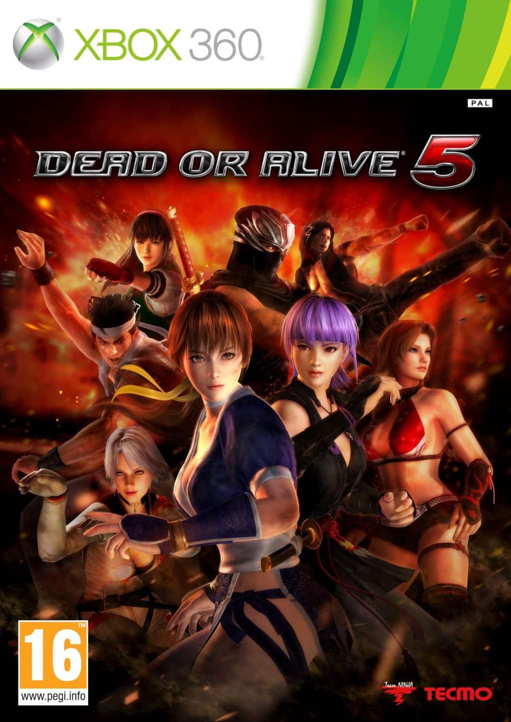Dead Or Alive 5 (Region NTSC/PAL) XBOX 360 ESPAÑOL Desc...