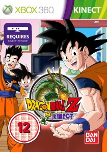 Cover Caratula Dragon Ball Z For Kinect  XBOX 360