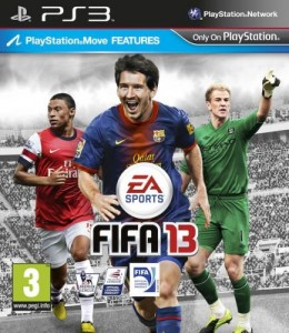 Cover Caratula FIFA 13 PS3 Play station 3