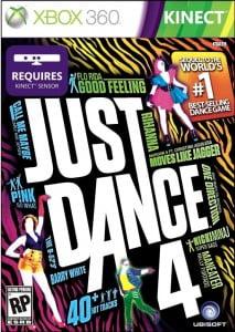 Cover Caratula Just Dance 4 XBOX 360