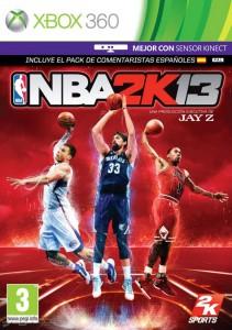 Cover Caratula NBA 2K13 XBOX 360