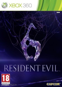 Cover Caratula Resident Evil 6 XBOX 360