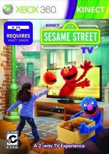 Cover Caratula Kinect Sesame Street TV XBOX 360