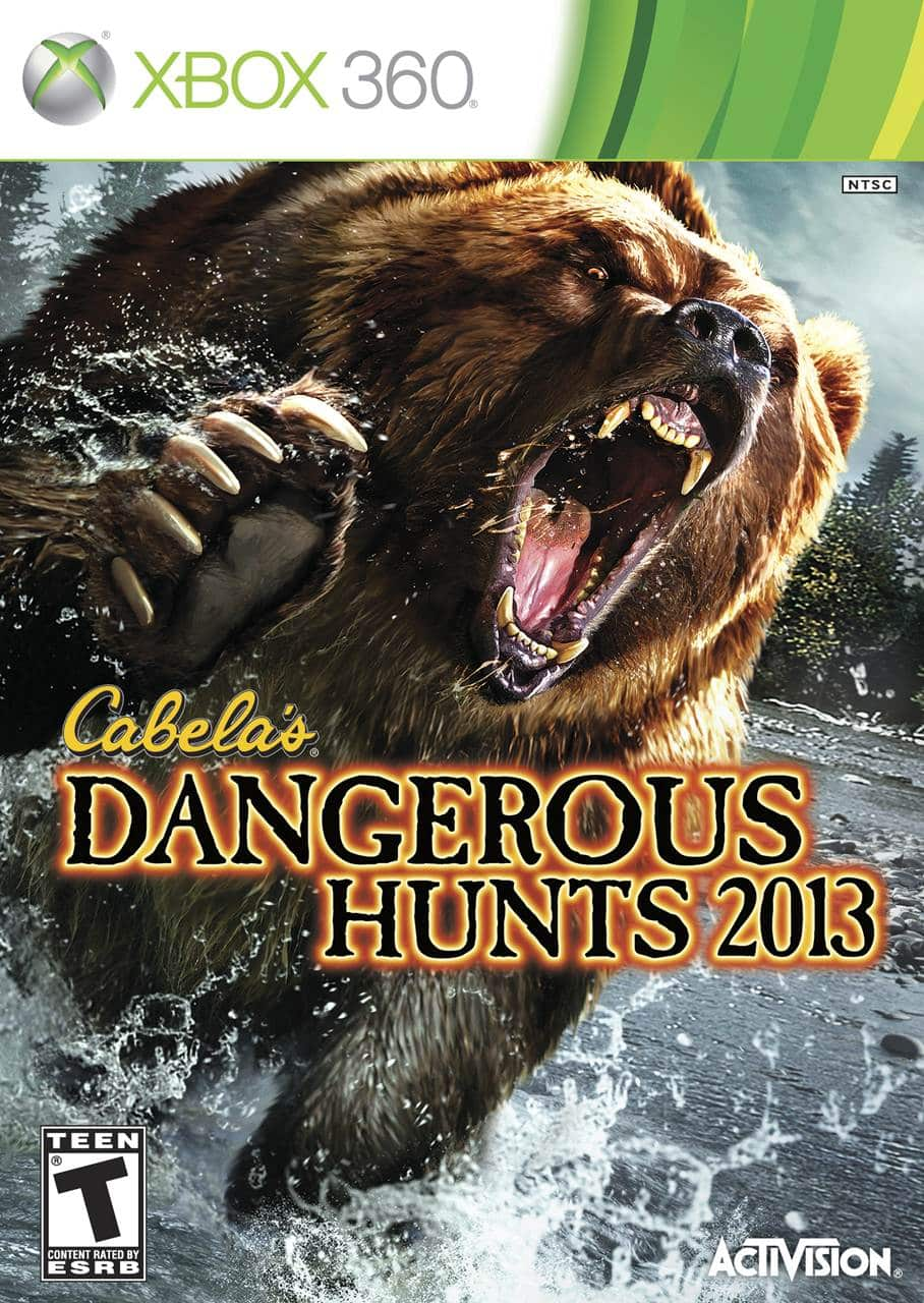 Cover Caratula Cabelas Dangerous Hunts 2013 XBOX 360