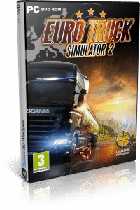 Cover Caratula Euro Truck Simulator 2 PC