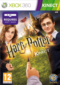 Cover Caratula Harry Potter Kinect XBOX 360