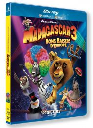 Cover caratula Madagascar 3 Europe's Most Wanted Blu Ray