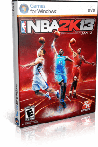 Cover Caratula NBA 2K13 PC