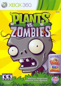 Cover Caratula Plants VS Zombies XBOX 360