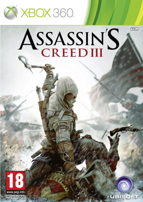 Cover Caratula Assassin's Creed III XBOX 360