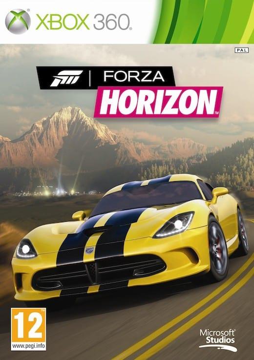 Cover Caratula Forza Horizon XBOX 360