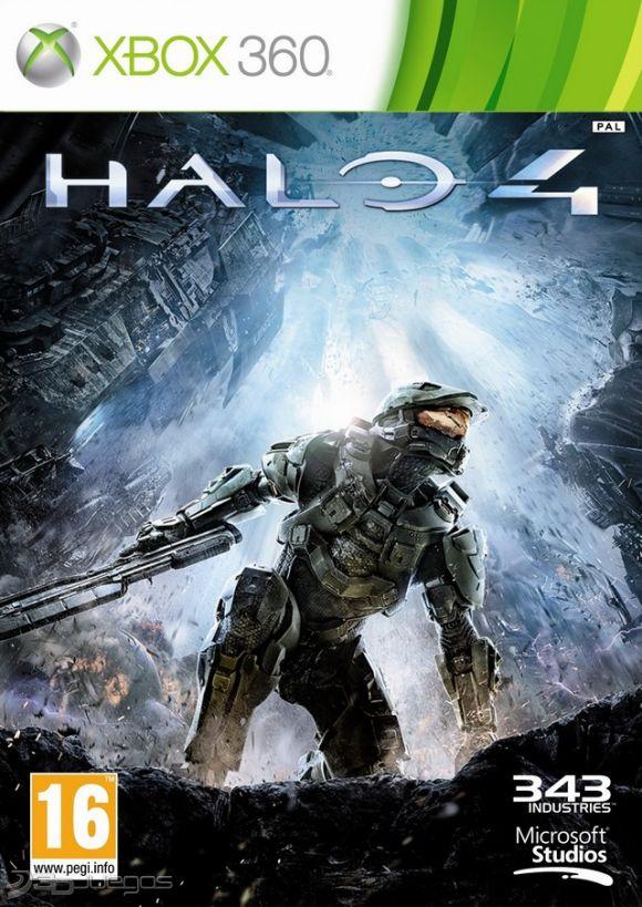 Cover Caratula Halo 4 XBOX 360