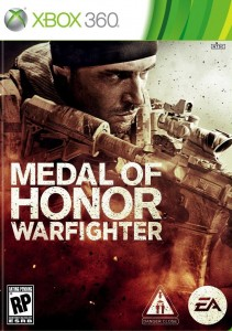 Cover Caratula Medal Of Honor Warfighter XBOX 360