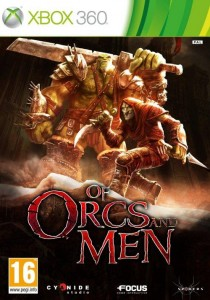 Cover Caratula Of Orcs And Men XBOX 360