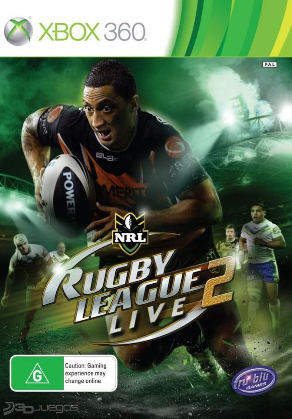 Rugby League Live 2 (Region PAL) XBOX 360 Descargar Ful...