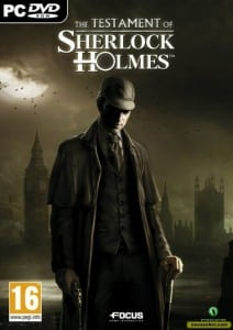 Cover Caratula PC The Testament Of Sherlock Holmes