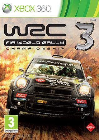 WRC3 World Rally Championship 3 (Region PAL) XBOX 360 ESPAÑOL Descargar Full
