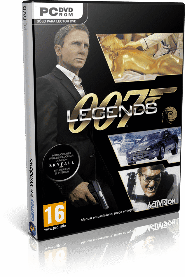 Cover Caratula James Bond 007 Legends PC