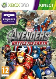 Cover Caratula Marvel Avengers Battle For Earth XBOX 360
