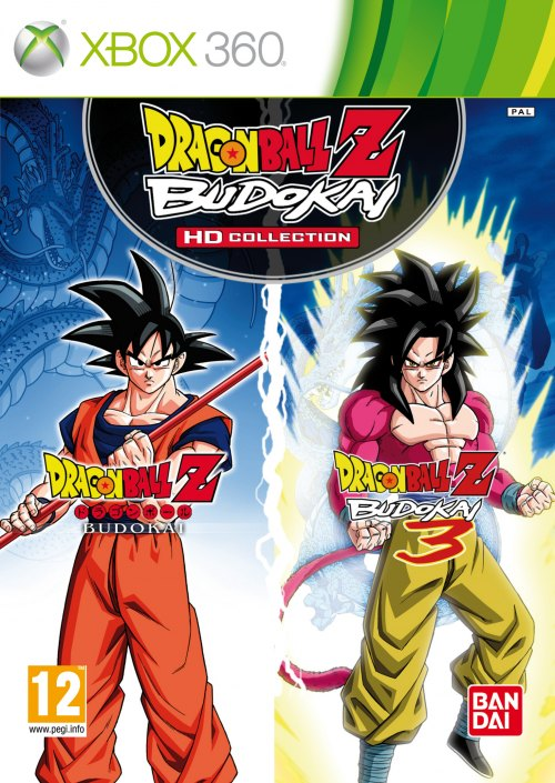 Cover caratula Dragon Ball Z Budokai HD Collection XBOX 360
