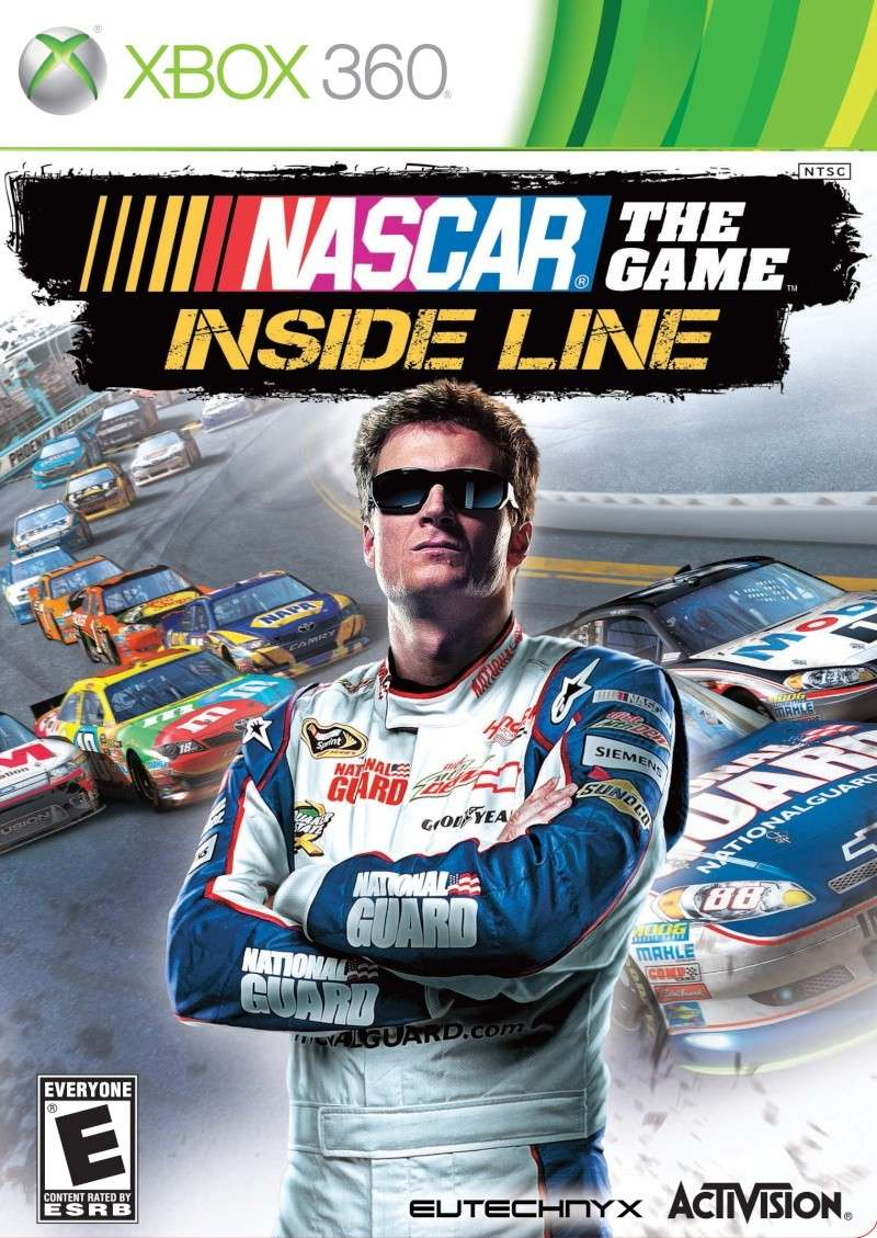 Cover Caratula NASCAR The Game Inside Line XBOX 360