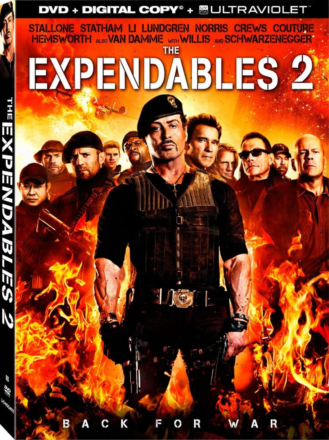 Los Indestructibles 2 (2012) DVDR Full ESPAÑOL Latino D...