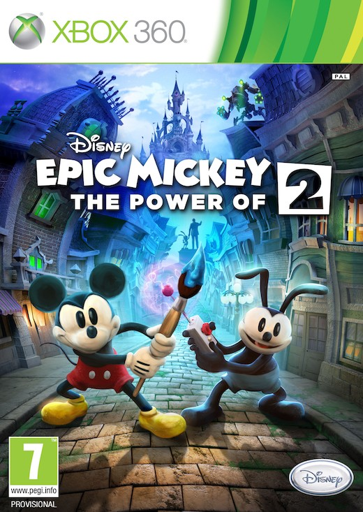 Epic Mickey 2 The Power Of Two (Region FREE) XBOX 360 E...