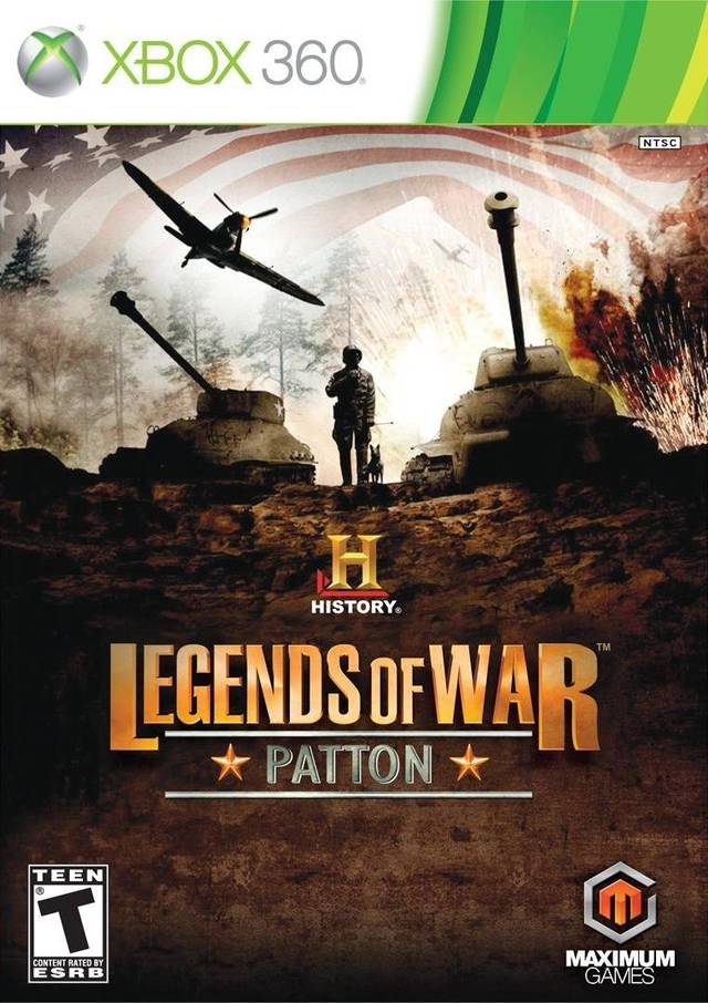 History Legends Of War Patton (Region NTSC) X...
