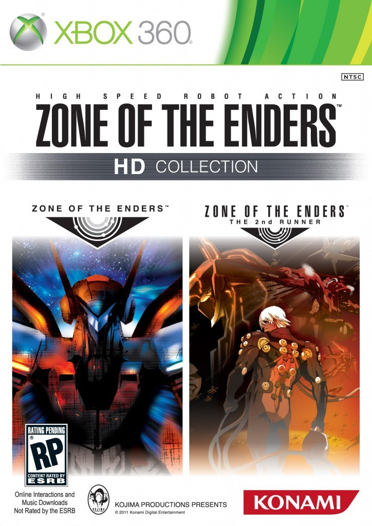 Zone Of The Enders HD Collection (Region NTSC...