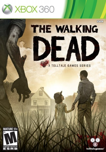 Cover Caratula The Walking Dead XBOX 360